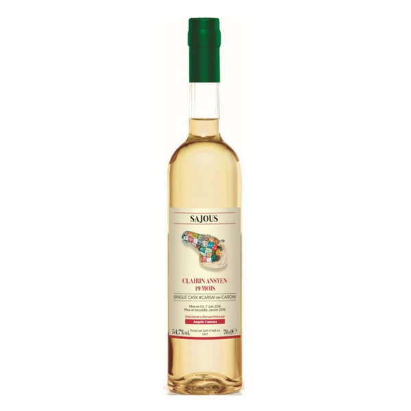 Rum from Haiti CLAIRIN 19 Months 2015 Ansyen Sajous Single Cask 54,7%