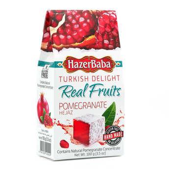 Hazer Baba loukoums - Turkish Delight with Pomegranate