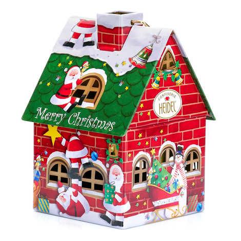 "Confiserie Heidel - Maisonette ""Christmas nostalgia"" fulled with chocolates"