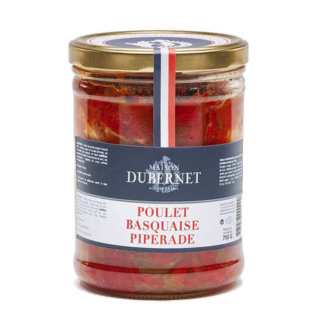 Maison Dubernet - Poulet Basquaise with Piperade - Maison Dubernet