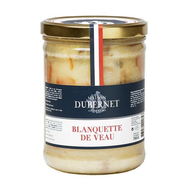 Blanquette de veau - Maison Dubernet