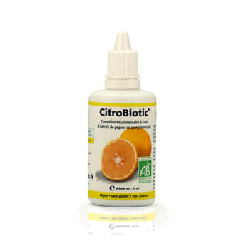 CitroBiotic® - CitroBiotic® - Organic Grapefruit Seed Extract