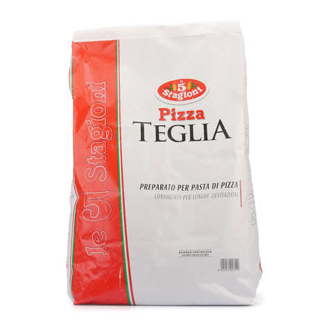 Le 5 Stagioni - Pizza Teglia - Mix de farine à pizza pour grandes plaques