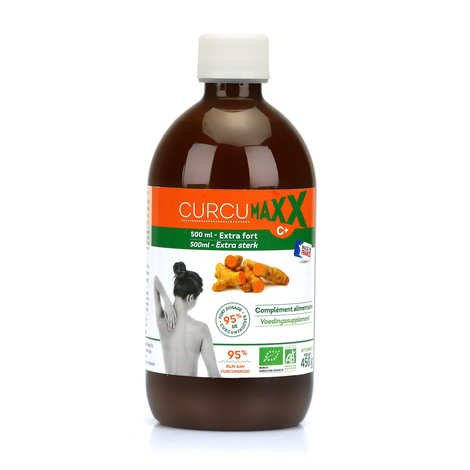Curcumaxx C+ - Organic Curcumaxx C+ 95% in Bottle