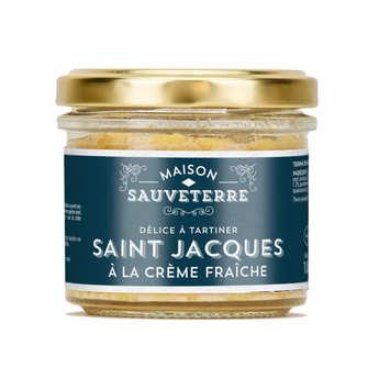Maison Sauveterre - Saint-Jacques and cream spreads