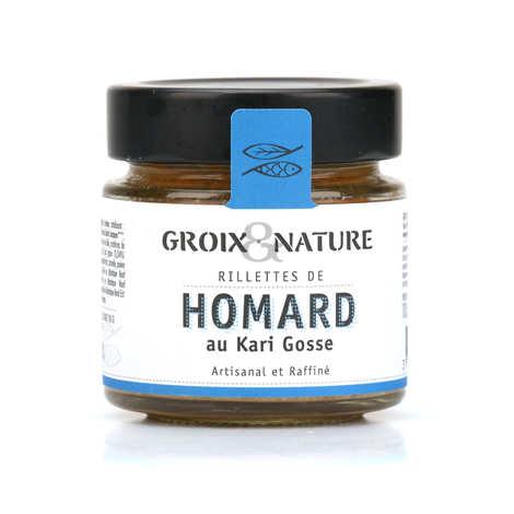 Groix & Nature - Rillettes de homard au kari gosse
