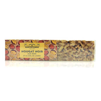 Maison Sauveterre - Bar of Black Nougat with Walnuts