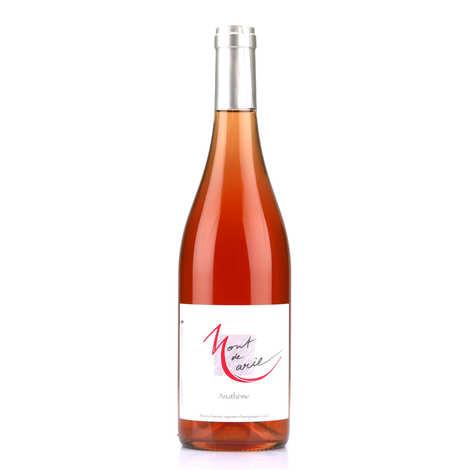 Domaine Mont de Marie - Anathème rosé - vin rosé du Languedoc sans sulfite ajouté