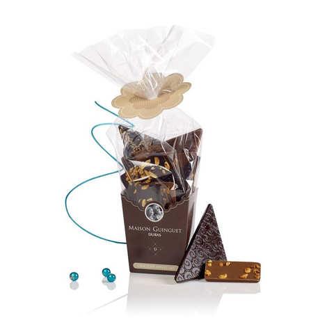 Maison Guinguet - Bouquet de chocolats noirs et laits