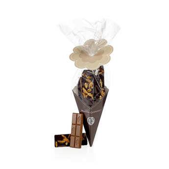 Maison Guinguet - Chocolate Bars Cornet - Dark, Milk, White