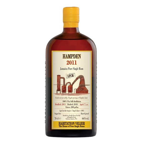 Rhum de la Jamaïque Hampden 7 ans 2011 LFCH - 60.5%