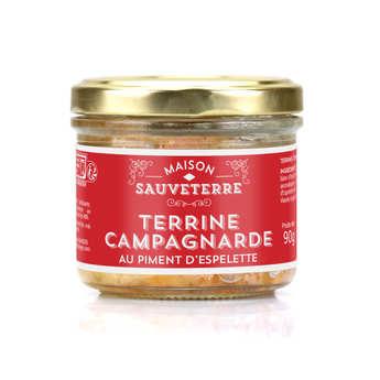 Maison Sauveterre - Terrine campagnarde au piment d'Espelette
