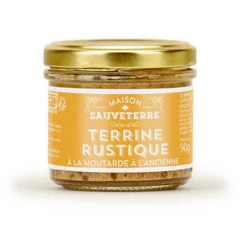 Maison Sauveterre - Terrine rustique à la moutarde à l'ancienne