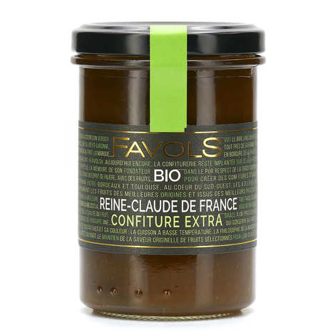 Favols - Organic Greengage Plum Jam from France