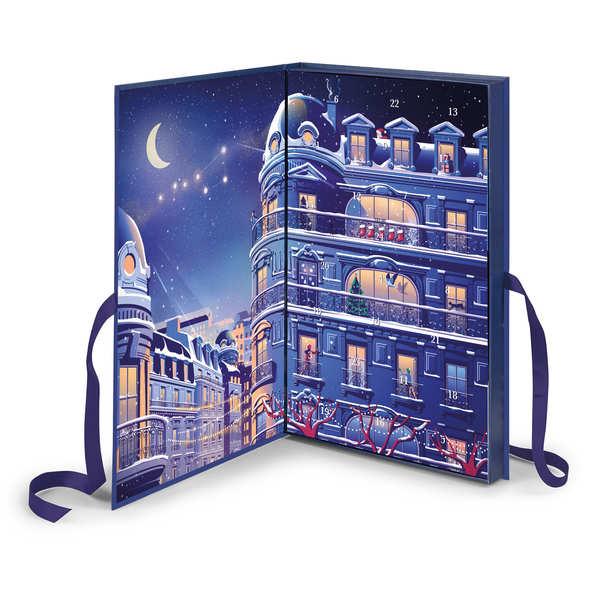 Calendrier de l'avent chocolats Michel Cluizel