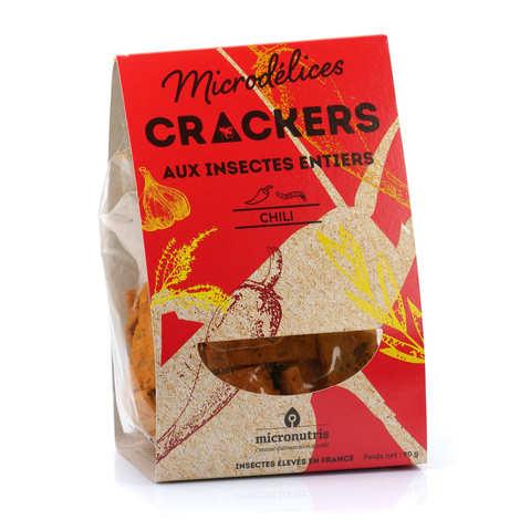 Micronutris - Crackers aux ténébrions et piment d'Espelette