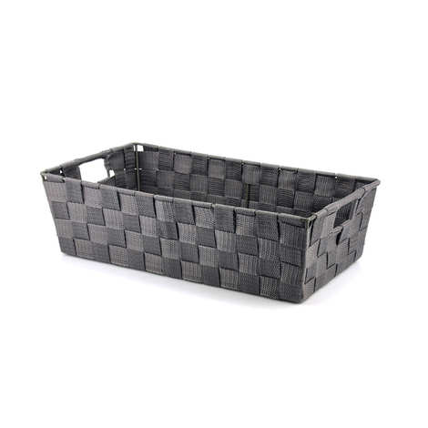 - Grey Nylon Basket With Handles