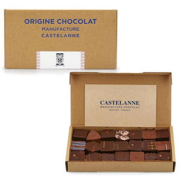 Coffret assortiment maison Castelanne - 24 chocolats