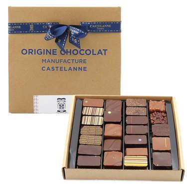 Coffret assortiment maison Castelanne - 36 chocolats