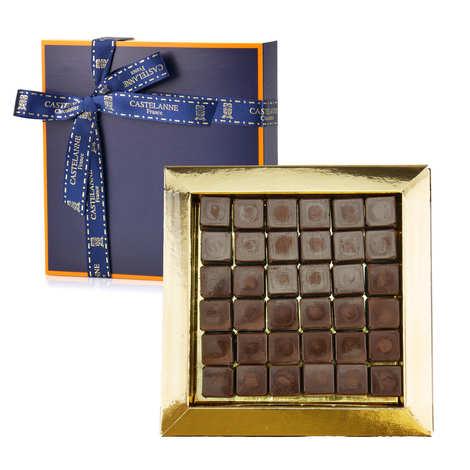 Castelanne - 'Les pavés de Nantes' Castelanne Assortment - Praliné Chocolate