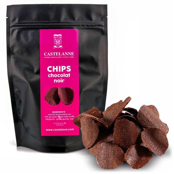 Chips en chocolat