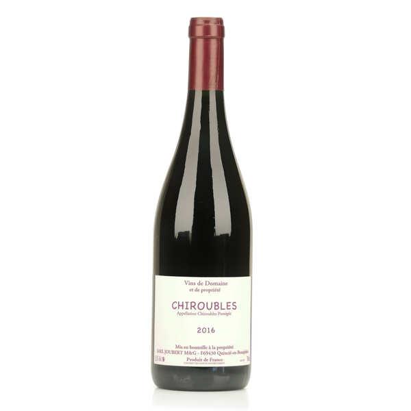 Chiroubles - vin rouge du beaujolais sans sulfite ajouté - bouteille 75cl - 2016