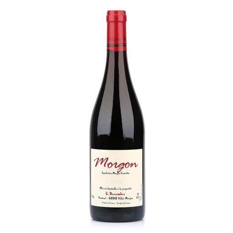Domaine Georges Descombes - Morgon AOC - vin rouge du Beaujolais bio et sans sulfites ajoutés