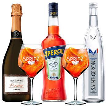 - Pack l'essentiel du cocktail Aperol Spritz