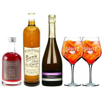 - Suze Spritz cocktail preparation kit