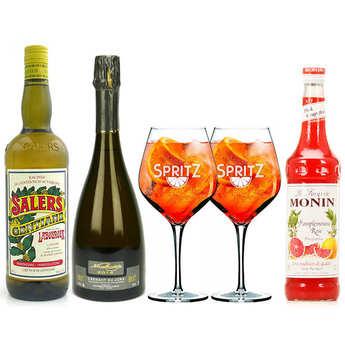 - Kit de préparation du cocktail Spritz Auvergnat