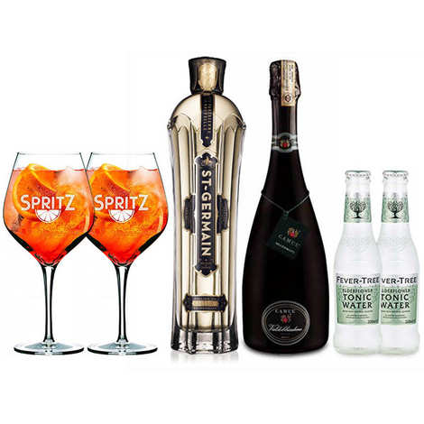 - St Germain Spritz cocktail preparation kit