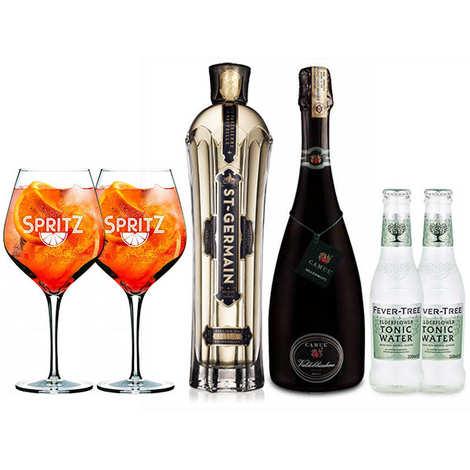 - Kit de préparation du cocktail Spritz St Germain