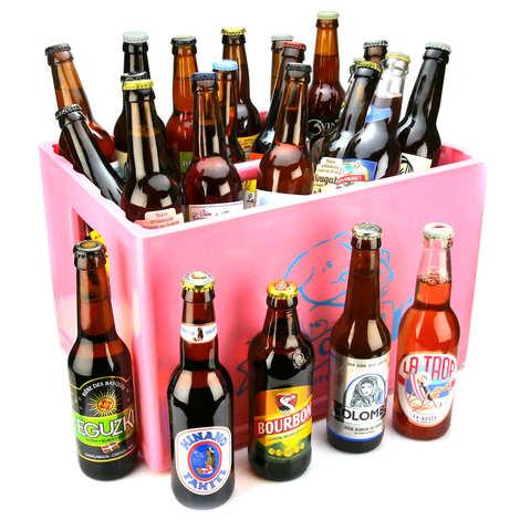 BienManger paniers garnis - Caisse de 24 bières pour les vacances