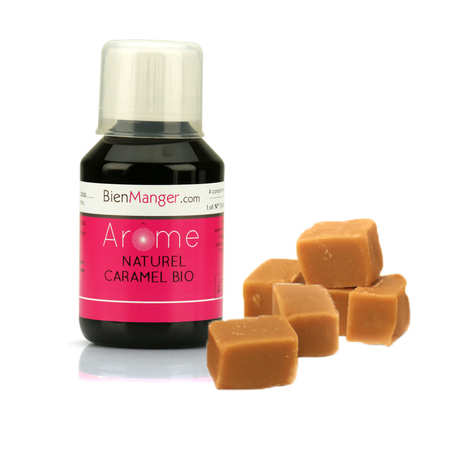BienManger aromes&colorants - Arôme alimentaire de caramel bio