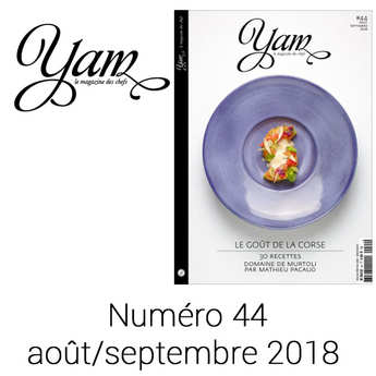 Yannick Alléno Magazine - French magazine about cuisine - YAM n°44