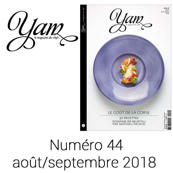 French magazine about cuisine - YAM n°44