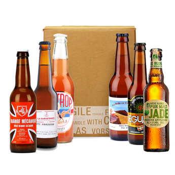 - Box découverte de 6 bières françaises pour les vacances (août)