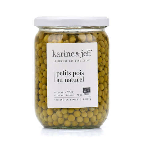 Karine & Jeff - Organic Plain Peas