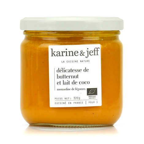 Karine & Jeff - Organic Butternut Squash and Coconut Milk Purée