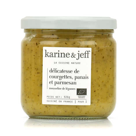 Karine & Jeff - Organic Courgette Parsnip and Parmesan Purée