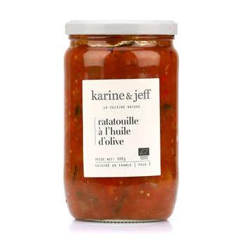 Karine & Jeff - Ratatouille à l'huile d'olive bio