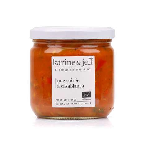 Karine & Jeff - Une soirée à Casablanca - Légumes cuisinés bio