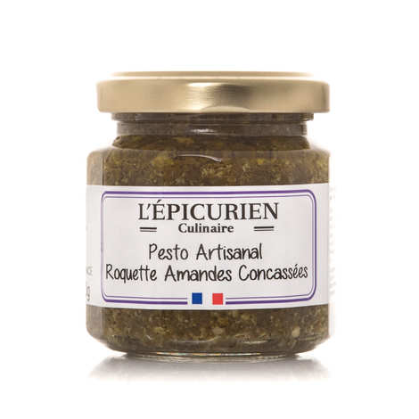 L'épicurien - Pesto artisanal roquette amandes concassées