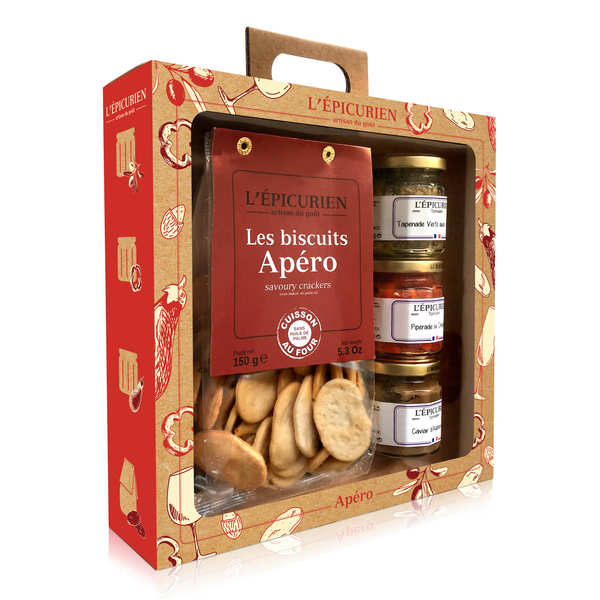 Apero Box - Spread ans Salty Biscuits