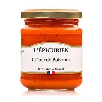 L'épicurien - Crème de poivron à tartiner