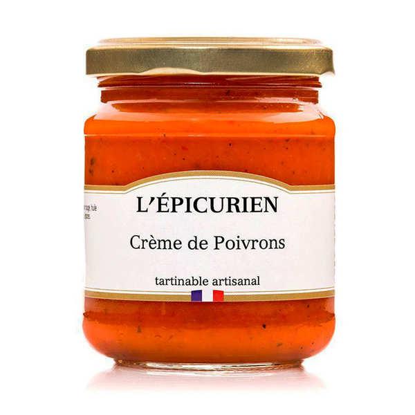 Crème de poivron à tartiner