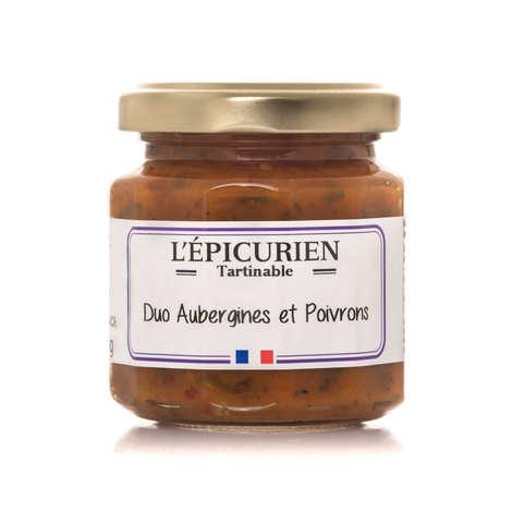 L'épicurien - Duo aubergines et poivrons à tartiner