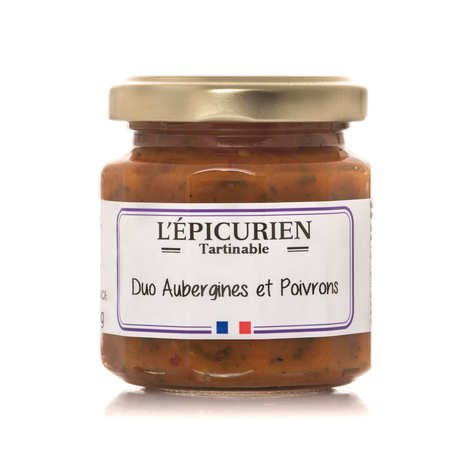 L'épicurien - Eggplants and Sweet Peppers to Spread