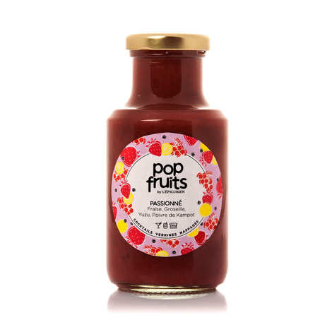 L'épicurien - Strawberry, Redcurrent , Yuzu and Kampot Pepper Fruit Coulis