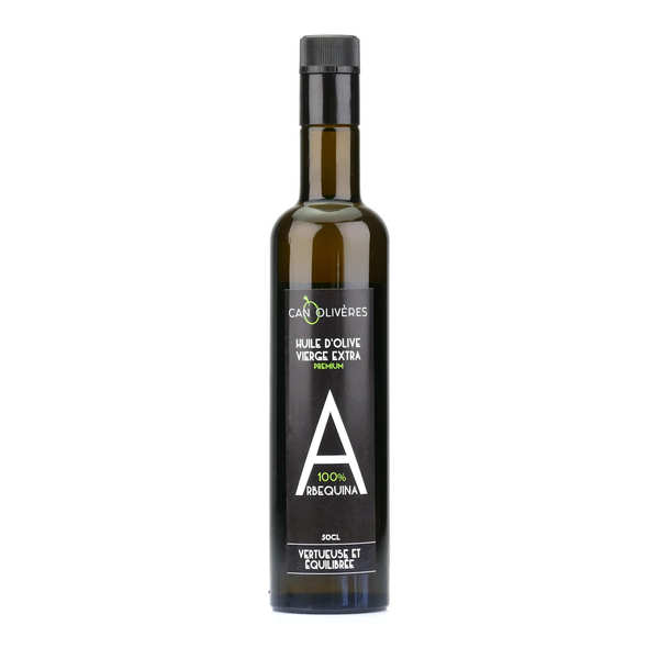 Huile d'olive vierge extra 100% Arbequine